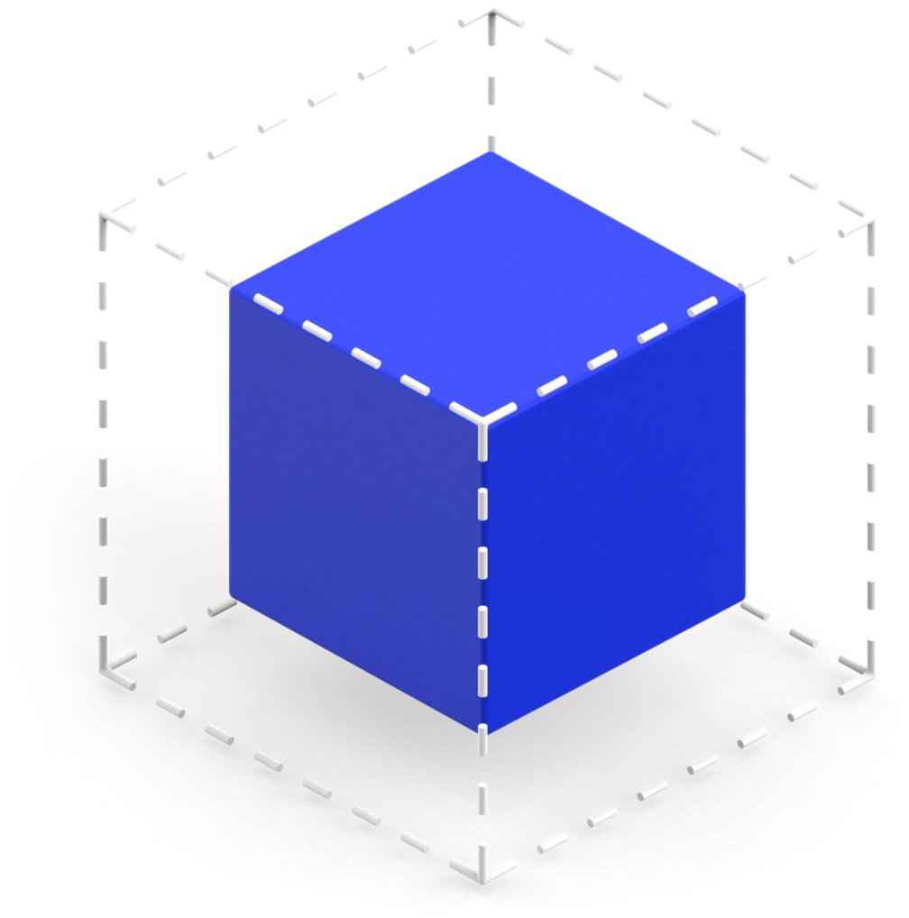 cube scaled down icon + LIMS